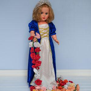 Sininen prinsessamekko