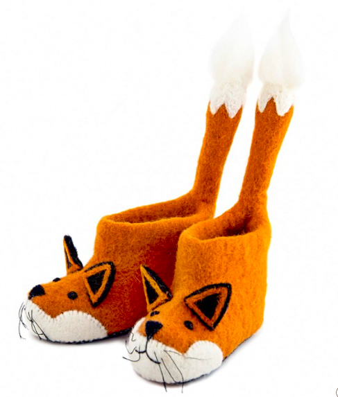 Finley Fox slippers