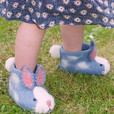 Rory Rabbit slippers